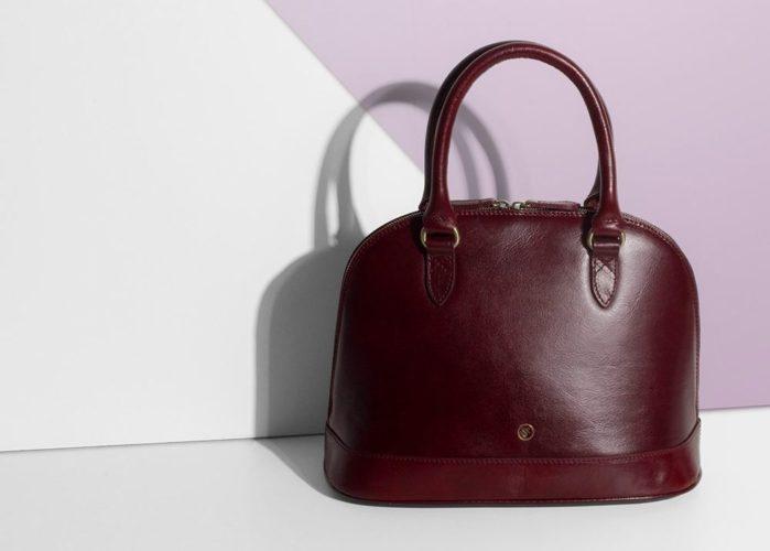 sac main cuir femme