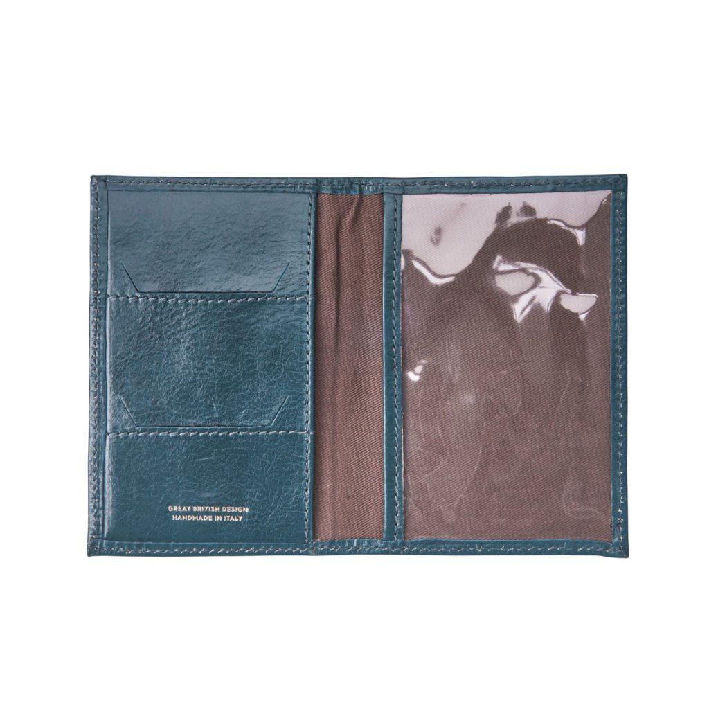 protege passeport cuir