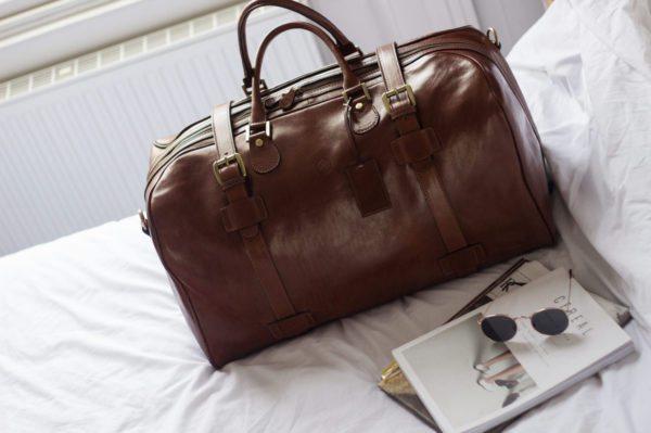 sac cuir voyage