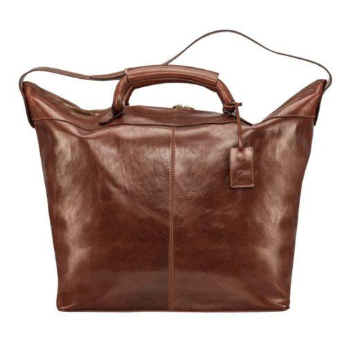 sac cuir femme marron