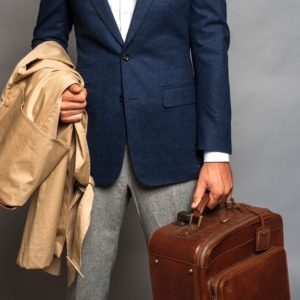 valise cuir homme