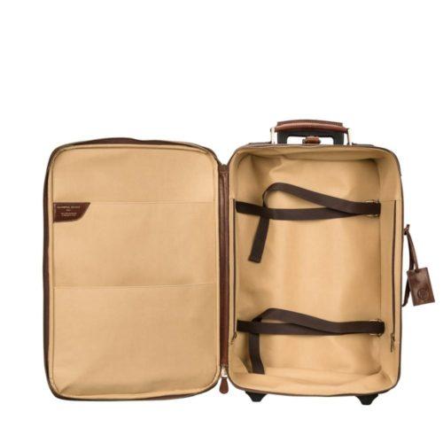 interieur valise cuir